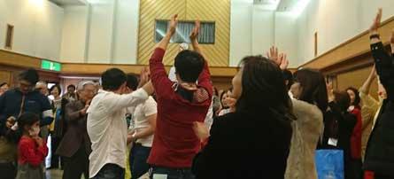 日本語教室交流会の様子2