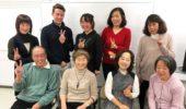 日本語講座 金曜午前教室の懇親会(2020年1月17日)