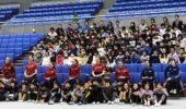 車いすバスケット・イギリス女子五輪チーム歓迎会・小学生交流会 通訳ボランティア(2020年2月7日、10日)